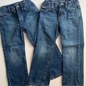 Lot of 2 Pairs 4T Old Navy Jeans